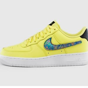 Yellow Nike Air Force One low 07 lv83